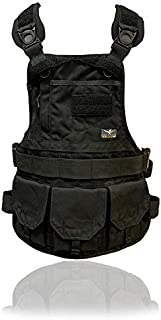 product image for Atlas 46 JourneyMESH Chest Rig with Cargo Pockets, Black
