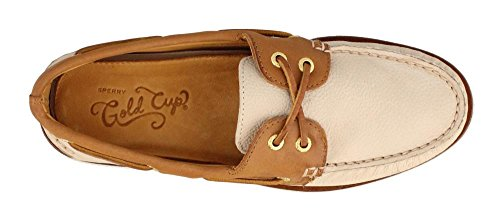 Top Shoe Gold Ivory Authentic Sider Men's Original Tan Boat Sperry wZdqfpw