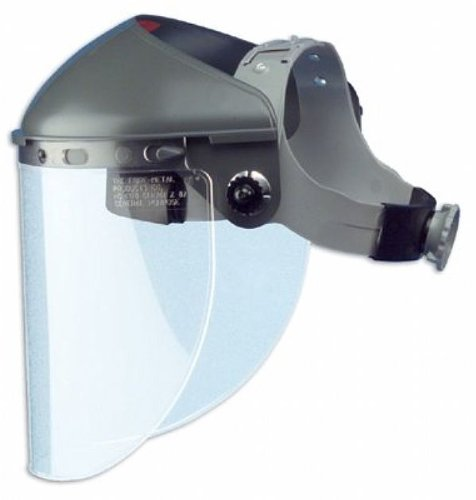 Fibre-Metal 280-F400 High Performance Faceshield Headgears, Gray Noryl with F400, One Size by Fibre-Metal Hard Hat