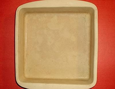 "The Pampered Chef 9"" Square Baker Stoneware Pan"