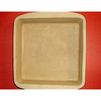 Amazon Com The Pampered Chef 9 Quot Square Baker Stoneware