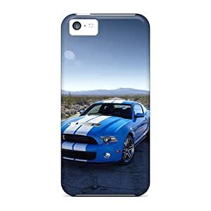 LauraAdamicska Iphone 5c Protective Hard Phone Covers Custom Realistic Ford Mustang Skin [GYb8909VvsT]
