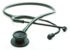 The Adscope-lite 609ST is the only affordably priced stethoscope to combine superior acoustic response with an ultra lightweight design
