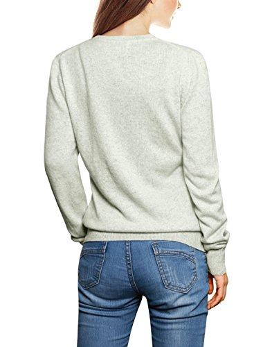 Donna K 100 Cardigan Allegra XL V cashmere con scollo Grigio da a in donna 1B6fq1