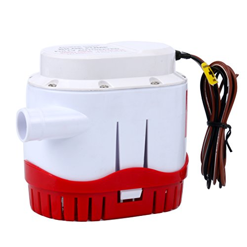 Amarine-made Automatic Submersible Boat Bilge Water Pump 12v 2000gph Auto with Built-in Float Switch