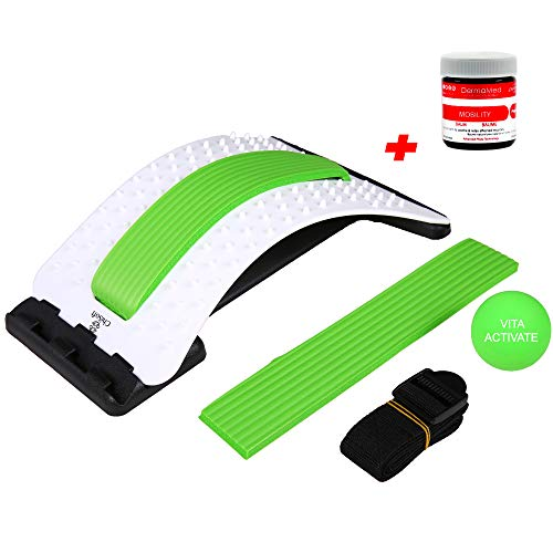Find Cheap Back Stretcher + Muscle Relief Balm (2-in-1) CHISOFT Back Stretching Device by VITA Activ...