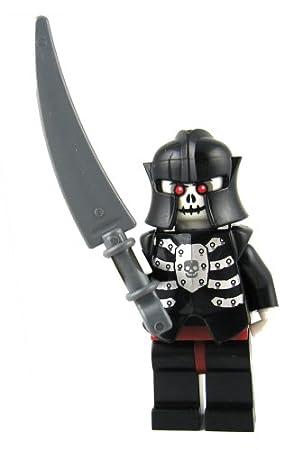LEGO CASTLE - SKELETON WARRIOR WITH WEAPON: Amazon.co.uk: Toys & Games