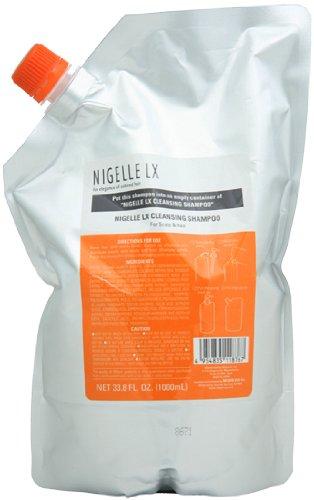 Hair Foaming Jelly (Nigelle LX Cleansing Shampoo, 33.8 oz - refill)