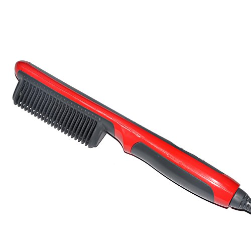 Amazon.com : Heat Electric Straightener Professional Styling Tools Smoothing Brush Tourmaline Ceramic Fast Hair Comb : Beauty