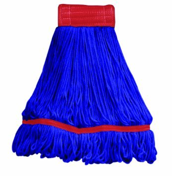 Commercial Maxi Plus Microfiber Loop End Mop 97206 1 case/12 mop heads