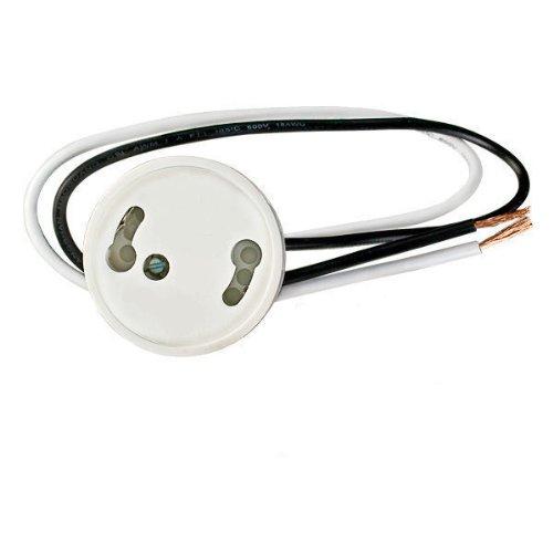 TCP 331002SKT Standard 2 Wire GU24-1 Socket, 2700-Kelvin