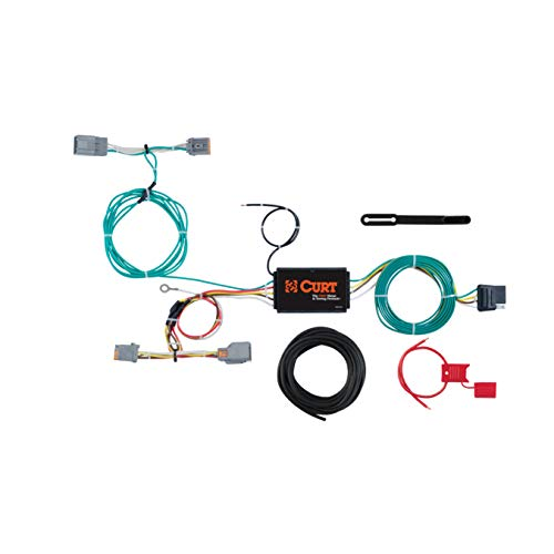 CURT 56287 Vehicle-Side Custom 4-Pin Trailer Wiring Harness for Select Volvo V60