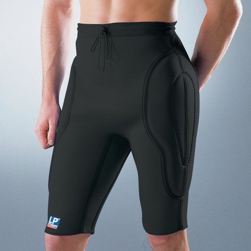 LP Supports Padded Goalkeepers Shorts , S