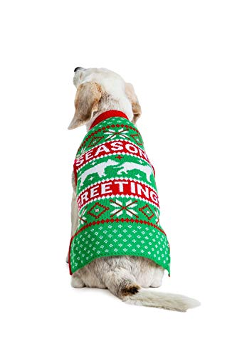 Tipsy Elves Dog Ugly Christmas Sweaters – Ugly Xmas Sweater for Big and Small Dogs