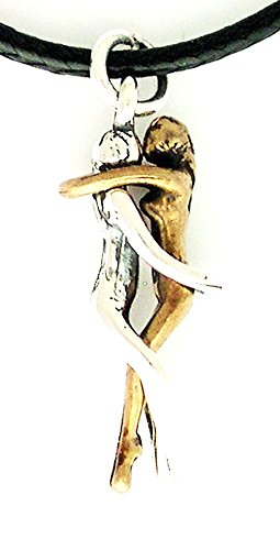 Woman/Woman Embrace Pendant for $<!--$16.00-->