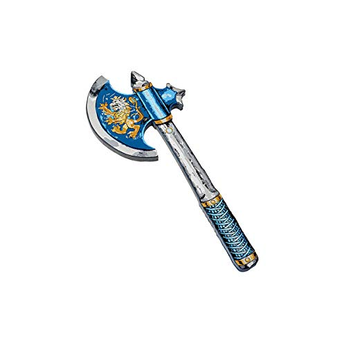 Liontouch 10.3  Knight Axe, Noble Knight, Blue,