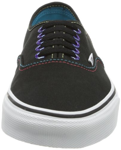 Vans U Authentic (Iridescent Pop - Zapatilla baja Unisex adulto Negro (Schwarz ((Iridescent Pop))