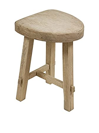Incredible Scandi Chic Mik Wooden Stool Amazon Co Uk Kitchen Home Bralicious Painted Fabric Chair Ideas Braliciousco