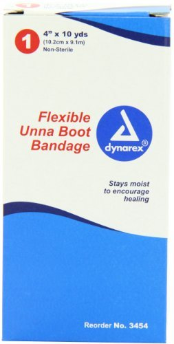 Dynarex Unna Boot Bandages 4'' x 10 yds 12/Cs