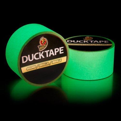 Duck Brand 281261 Glow in Dark Tape, 1.88-Inch 10 Feet, of Rolls