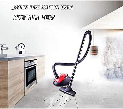 Aspirateur, 1250W Aspirateur Con Sacs Cyclonique, Powerful Compact Aspirateur Traîneau Le Système, Rayon de Travail de 6M