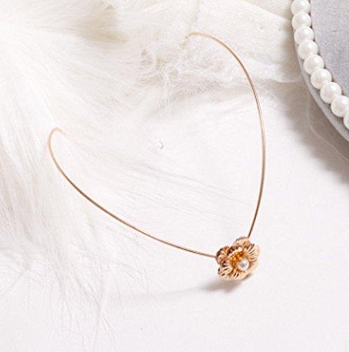 Dylandy Hair Pins Hair Barrettes Headband Hair Ornament Pearl Hairpin Headwear Fashion Simple Style for Women Girl Lady