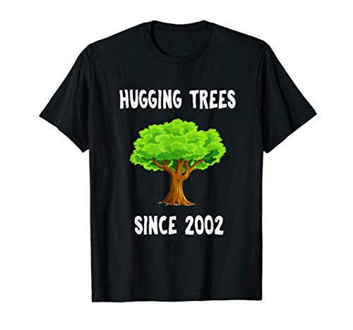 Earth Day Costume (Hugging Trees Since 2002 11th Grade 11 Earth Day)