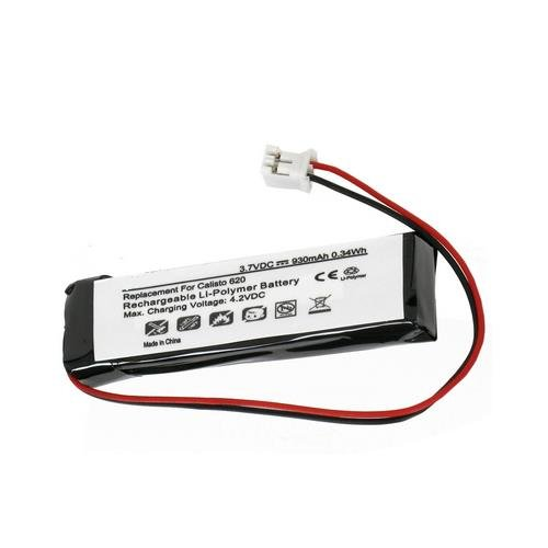 Plantronics 85442-01 Replacement Battery (Li-Pol, 3.7V, 930mAh) - Replacement for Plantronics 85442-01 Speaker Battery by Synergy Digital