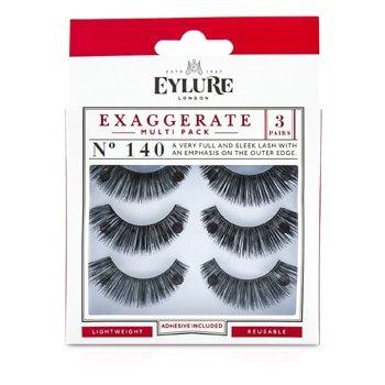 Eylure Eyl Exaggerate Eyelash Multi Pack, 3 Count