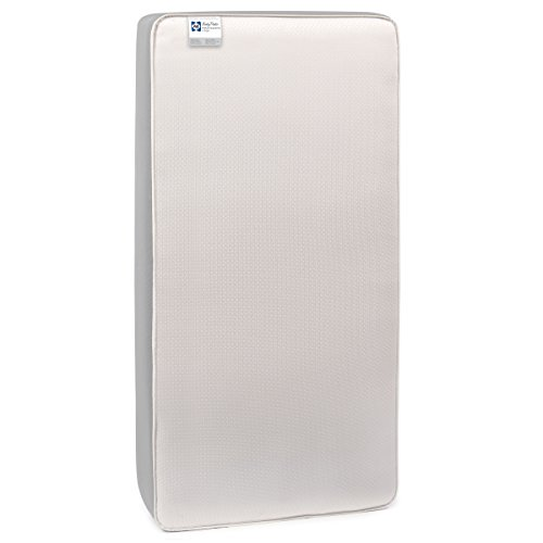 "Sealy BabyPedic Posture Supreme 2-Stage Dual Firmness Pocket Coil Toddler & Baby Crib Mattress - 728 Total Coils, Waterproof Barrier, Firmer Infant Side, Softer Toddler Side, 52""x 28"" ()"