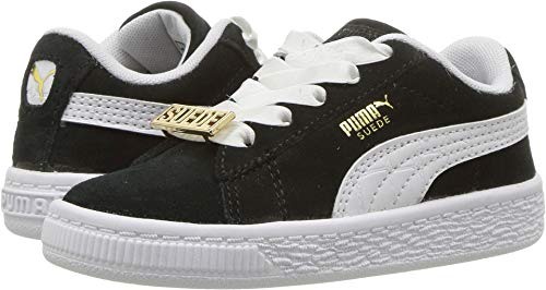Puma Kids Baby Boy's Suede Classic Bboy Fabulous (Toddler) Puma Black/Puma White 8 M US Toddler