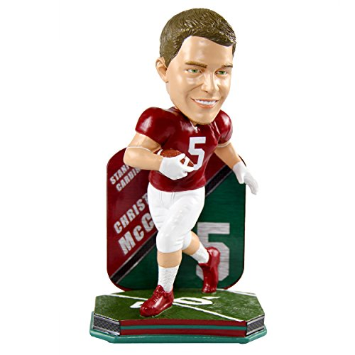 Christian McCaffrey Stanford Cardinals Limited Edition College Football Name and Number Bobblehead by Forever Collectibles