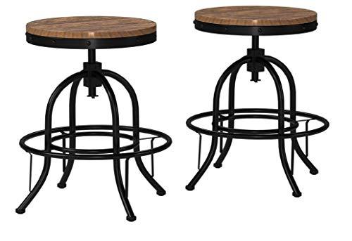 Super Ashley Furniture Signature Design Pinnadel Swivel Bar Inzonedesignstudio Interior Chair Design Inzonedesignstudiocom