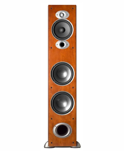 amazon com polk audio rti a7 floorstanding speaker single black rh amazon com