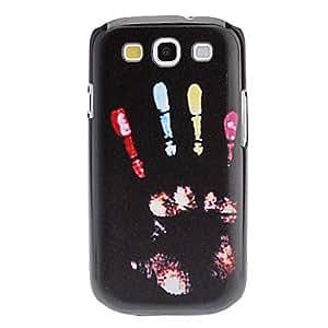 DUR Handprint Pattern Hard Case for Samsung Galaxy S3 I9300
