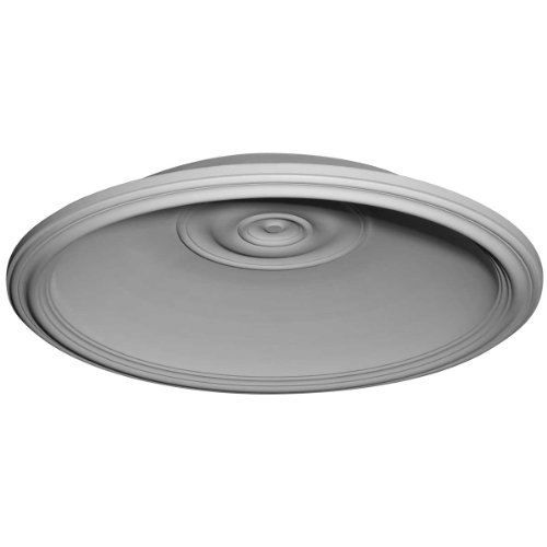 Ekena Millwork DOME32TR 36 5/8-Inch OD x 32 5/8-Inch ID x 6 1/2-Inch Traditional Recessed Mount Ceiling Dome by Ekena Millwork