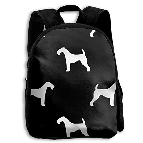 The Children's Airedale Terrier Silhouette Dog Backpack