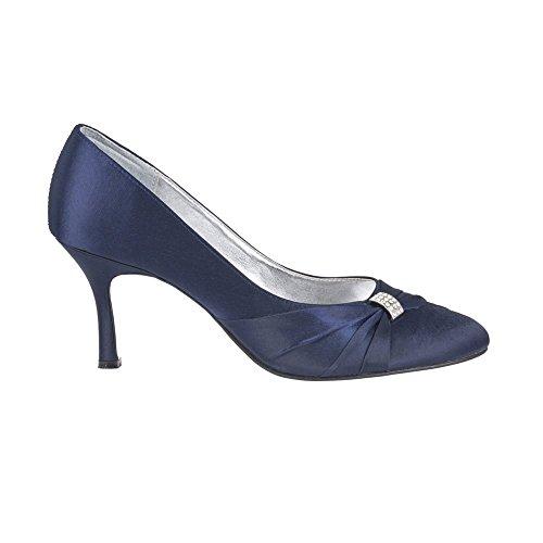 Miss Con Azul Cuña Marino Mujer Sandalias Diva 66wr7q0A