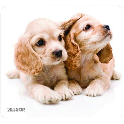 Puppies Mouse Pad, Non Skid ( 50 PACK ) BY NETCNA by NETCNA