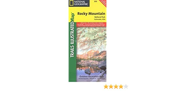 National Geographic Trails Illustrated Rocky Mountain National