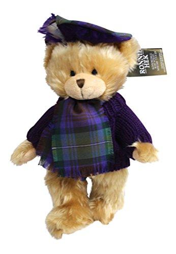 Ronnie Hek Hamish Scottish Tartan Teddy Bear