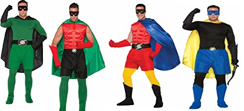 Forum Novelties Create Your Own Super Hero Adult Costume Accessory Boxer Shorts up to 34