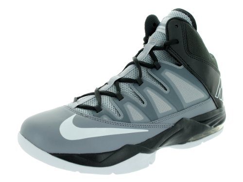 Nike Mens Air Max Stutter Stap Basketbalschoenen Stealth / Wit / Anthrct / Wlf Grijs