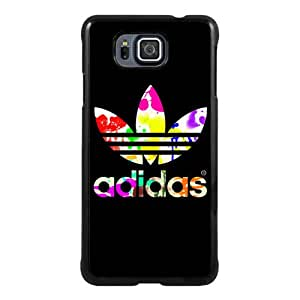 Beautiful Samsung Galaxy Alpha Screen Cover Case ,Ad 8 Black Samsung Galaxy Alpha Cover Fashionabe And Durable Designed Phone Case