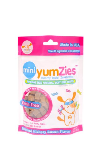 Nootie Mini Yumzies Natural Hickory Bacon Flavor Dog Treats
