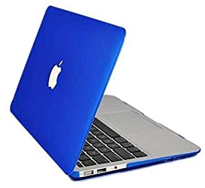 Rubberized Matte Case Cover Shell For Macbook Apple Air 13 13.3 Blue