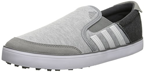 adidas Men's Adicross SL Golf Shoe, Core Heather/White/Dark Grey, 11 M US
