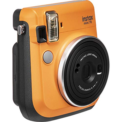 Fujifilm Instax Mini 70 – Instant Film Camera (Clementine Orange)