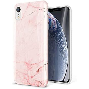 Amazon Com Gviewin Marble Iphone Xr Case Ultra Slim Thin