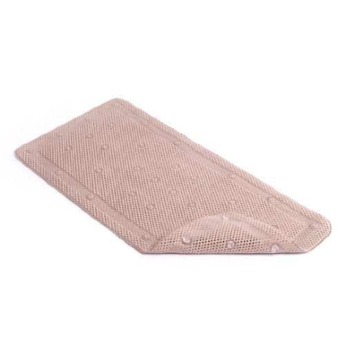 Con-Tact Brand Grip Bath Mat, Taupe, 36'' x 17'' by Con-Tact
